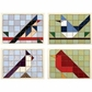 Paper Quilt Pattern - Birds Of A Feather