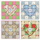 Paper Quilt Pattern - Heartfelt Message
