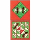 Paper Quilt Pattern - Traditional Quilt Block Christmas Cards