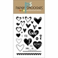 "Paper Smooches 4""x6"" Clear Stamps - Sweet Hearts"