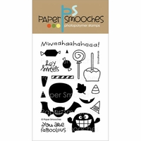 Paper Smooches Clear Stamps - Ghoulfriends