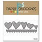 Paper Smooches Die - Hearts