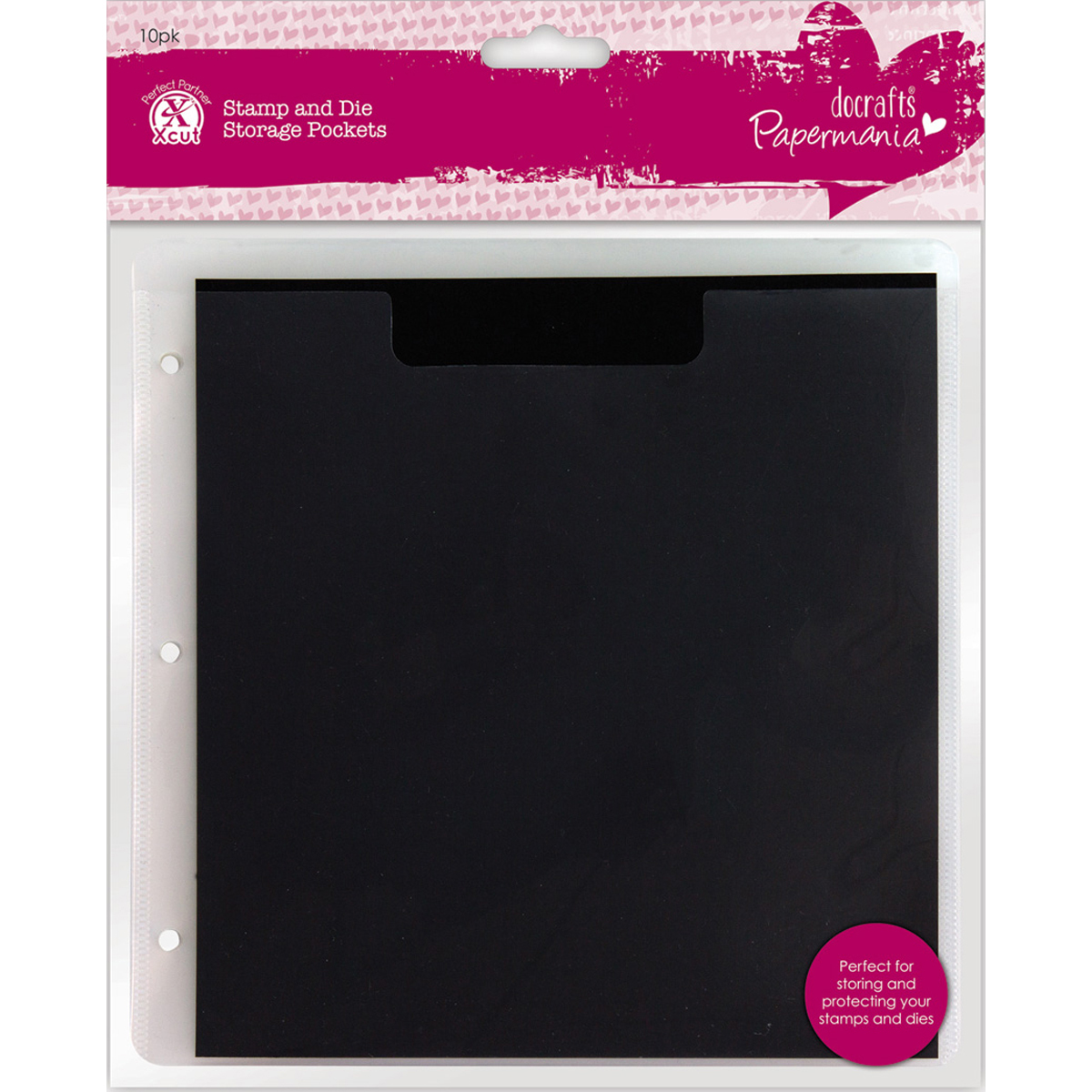Papermania Stamp Amp Die Storage Pockets W Magnetic Shim