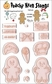 Peachy Keen Clear Stamp Assortment - Gingerbread Doll Set