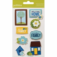 Pebbles Stickers