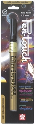 Pen-Touch Metallic Marker - Fine Point 1mm Gold Ink* - Click to enlarge