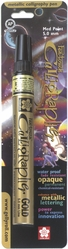 Pen-Touch Metallic Marker Medium (2mm) Point - Gold - Click to enlarge