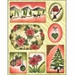 Penny Black Christmas Sticker Sheet - Christmas Collage