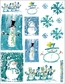 Penny Black Christmas Stickers