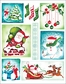 Penny Black Christmas Stickers - Christmas Traditions