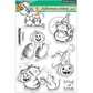 """Penny Black Clear Stamps 5""""x6.5"""" Sheet - Halloween Critters"""