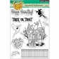 """Penny Black Clear Stamps 5""""x6.5"""" Sheet - Haunted Halloween"""
