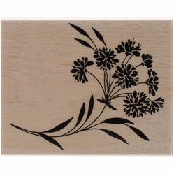 Penny Black Mounted Rubber Stamp - Ebullient - Click to enlarge