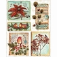 Penny Black Sticker Sheet - Christmas Song