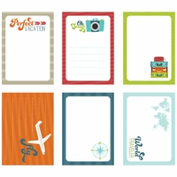 Perfect Vacation Die-Cut Journaling Tags