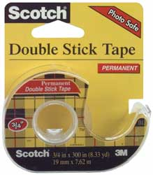 Permanent Double Sided Tape - Click to enlarge