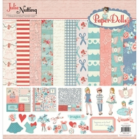 "Photo Play Collection Pack 12""x12"" - Julie Nutting Paper Dolls"