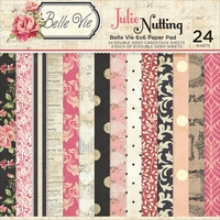 "Photo Play Julie Nutting Belle Vie Double-Sided Paper Pad 6""x6"""