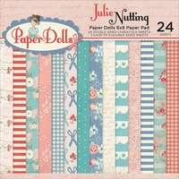 "Photo Play Julie Nutting Paper Dolls Double-Sided Paper Pad 6""x6"""