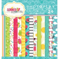 "Photo Play Summer Daydreams Double-Sided Paper Pad 6""x6"""