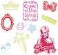 Plaid Clear Stamps In Case - High School Musical Sharpay