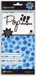 "Pop It! Shapes 1/8"" - Squares 7/16"" - Click to enlarge"