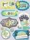 Poppy Seed Grand Adhesions - Word Tags