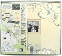 "Postbound Scrapbook Boxed Kit 12""x12"" - Classic Wedding"