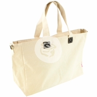 "Prima Canvas Tote - Natural 12.5""x24"""