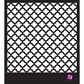 "Prima Designer Stencil 6""x6"" - Lattice"