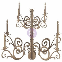 "Prima Marketing DIY Wooden Chandelier - Bohemian 17""x15.6"""