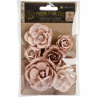 "Prima Marketing Flowers - Crown Gold 1.25"" to 2.5"""
