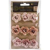 Prima Marketing Flowers - Solid Rose 1.25""