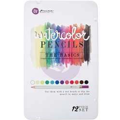 Prima Mixed Media Watercolor Pencils - The Basics - Click to enlarge