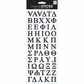Puffy Stickers Greek Alphabet - Black