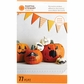 Pumpkin Stickers - Monsters Glittered