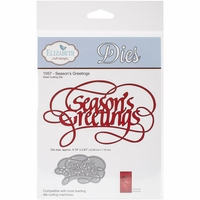 Quietfire Wafer Thin Metal Die - Season's Greetings