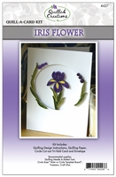 Quill-A-Card Kit - Iris Flower