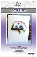Quill-A-Card Kit - Love Birds