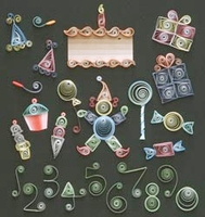 Quilling Kit - Birthday