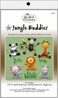 Quilling Kit - Jungle Buddies