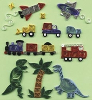 Quilling Kit - Just For Little Boys
