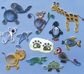 Quilling Kit - Zoo Animals