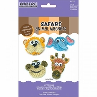 Quilling Magnet Kit - Safari Animal