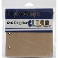 "Regular Chipboard Album 6""x6"""
