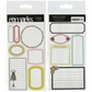 Remark Double-Sided Sticker Sheet - Good Deal w/Glitter Journaling