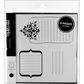 Remarks Journaling Sticker Book - Book 2 Black