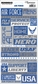 Reminisce Signature Series Military Stickers - Air Force Quote
