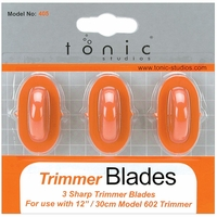 """Replacement Blades for the Tonic Studios 12"""" Trimmer"""