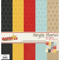 "Say Cheese Simple Basics Paper Kit 12""x12"""